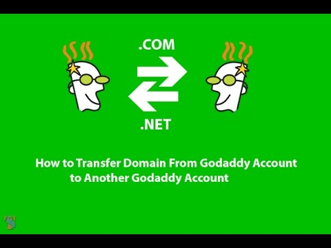 How to Transfer Domain From Godaddy Account to Another Godaddy Account
