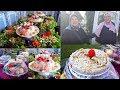 ⚪الجزء الرابع📍 سلطة فاخرة🥗 Salade Royal وديسير الأفراح🍍من اعداد أشهر تريتور الحاجة رقية👩🍳