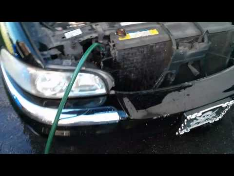 1997 Buick Park Avenue cooling system flush
