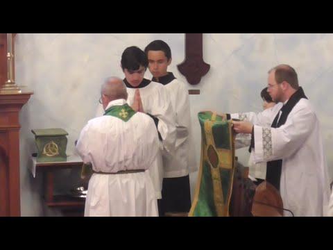 Holy Mass - Ninth Sunday after Trinity - July 24th, 2016