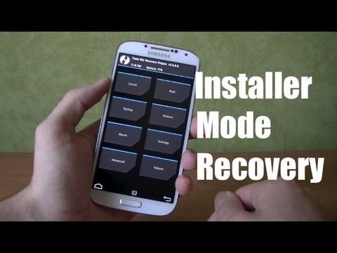 Installer le Mode Recovery sur le Galaxy S4 GT-I9505 (Custom Rom, sauvegarder/restaurer des Roms)