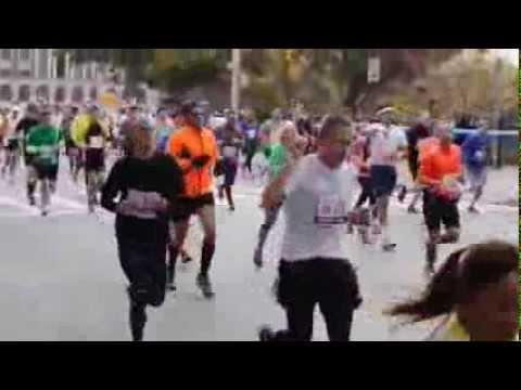NYC Marathon passing by Williamsburg