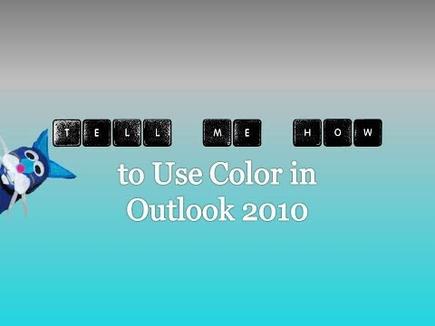 Using Color in Outlook 2010