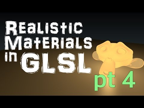 Realistic Viewport Materials in Blender Part 4