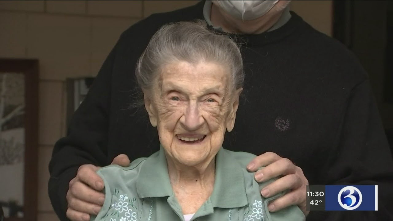 Bright Spot: Drive by birthday parade for 107-year-old New Haven resident