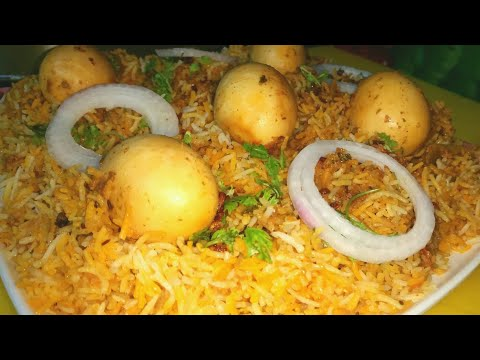 How to make egg biryani  [easy recipe]