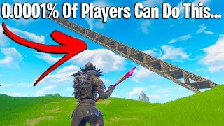 THE 8 LEVELS OF RAMP RUSHING IN FORTNITE (how pro are you?)