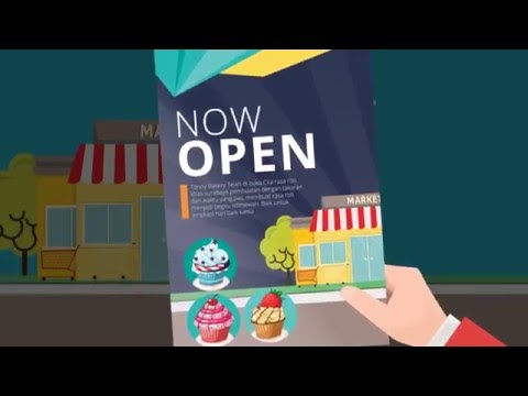 Pusat Percetakan - Flyer (Tutorial Animation)