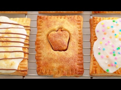 3 NEW Homemade Pop-Tarts: Apple Pie, S'mores & Funfetti - Gemma's Bigger Bolder Baking Ep  95
