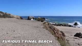 Fast & Furious 7 - Ending Beach Scene Filming Location (RIP Paul Walker)