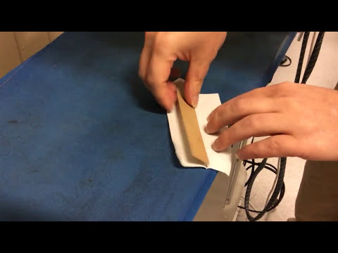 Pre-cut shirt part 11: sleeve and placket pieces