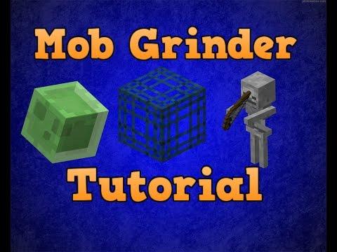 Mob Grinder Tutorial For Minecraft PE (0.9.4)