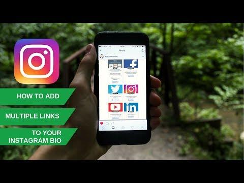 Instagram Marketing Hack 2017  |  Add Multiple Links On Instagram Profile/Bio