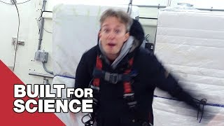 Tilting an Icy Floor Until You Fall Over: WinterLab