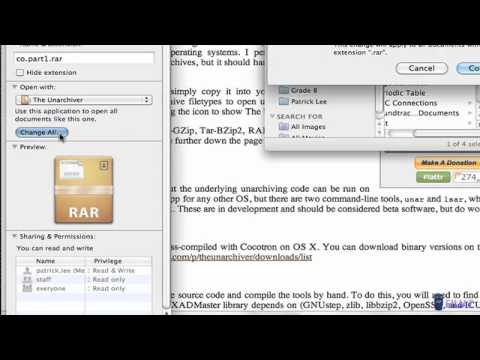  How to Open any RAR File on a Mac 