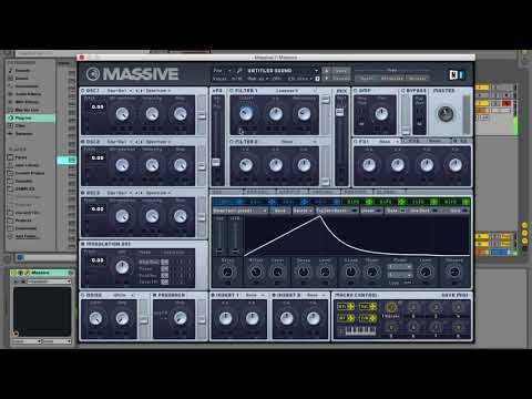 How To: Making bassline house with Massive | Native Instruments