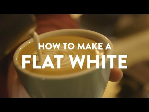 HOW TO MAKE A FLAT WHITE COFFEE | Ozone Coffee Shoreditch | What's Good London