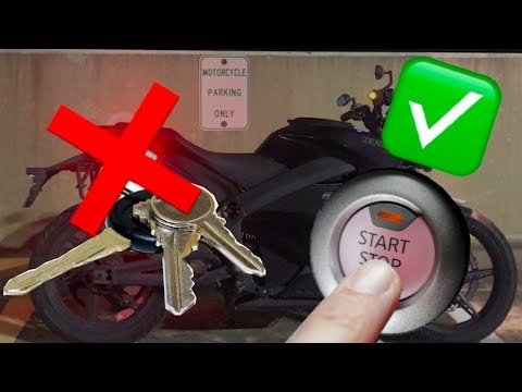 Keyless Motorcycle Ignition for under $100!???