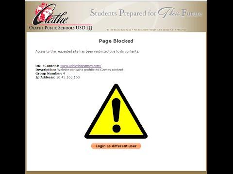 How to get around website blocks