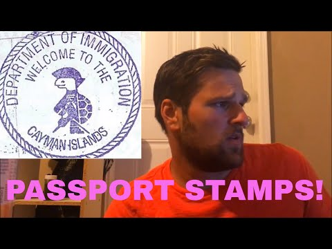 PASSPORT STAMPS! | Passports Part 1