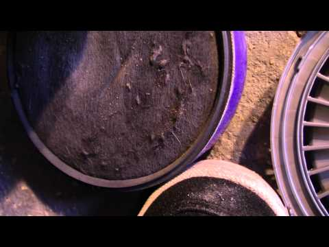 How To Wash Dyson DC07 Filters - RustySkull Productions