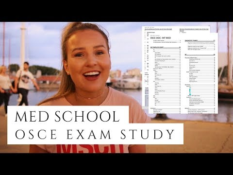 HOW I ORGANISE my EXAM STUDY - My OSCE DOC + STUDY TIPS // Med School Australia
