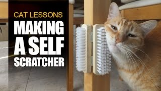 How to Make a Self Scratcher for Cats