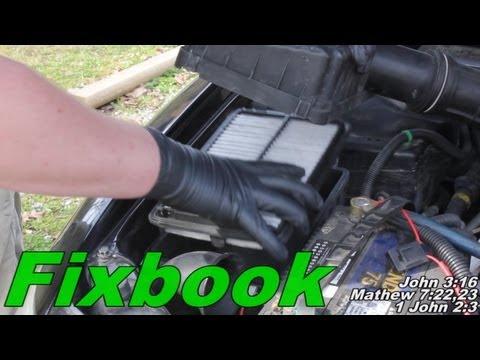 Air Filter Removal & Install Honda Accord