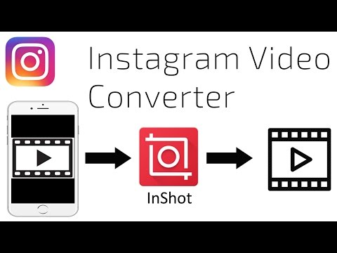 convert a smartphone video to a square Instagram video