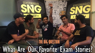 SnG: What are our favourite exam stories Feat. Kenny | The Big Question Ep 44 | Video Podcast