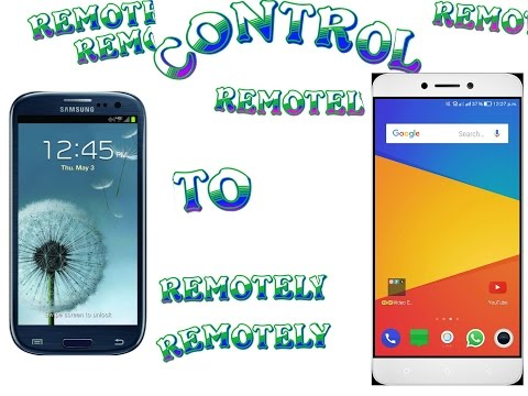 Control your Android from another Android (no root)