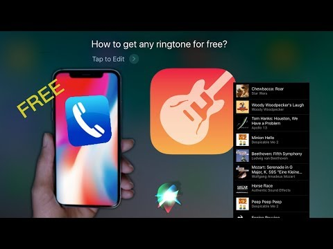 How to get any Ringtone for free - iOS 6/7/8/9/10/11 (No Jailbreak or Computer Needed)