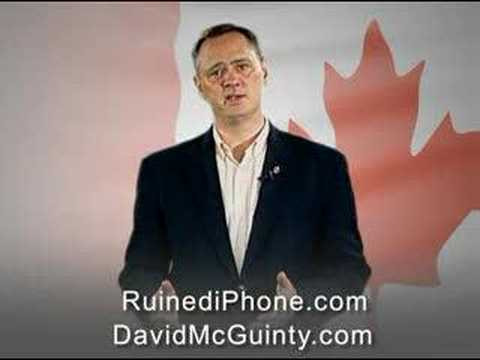 Rogers iPhone Petition with David McGuinty