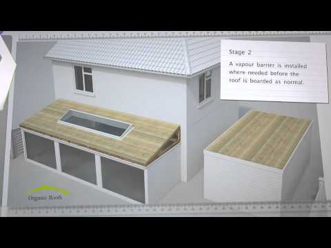 Organic Roofs - Domestic Green Roofs Explained