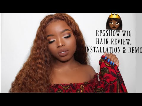 WIG TRANSFORMATION: START TO FINISH (Dying it Honey Blonde, Installation & Styling)