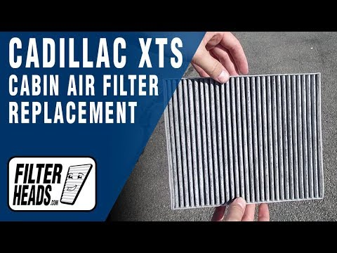 How to Replace Cabin Air Filter 2014 Cadillac XTS
