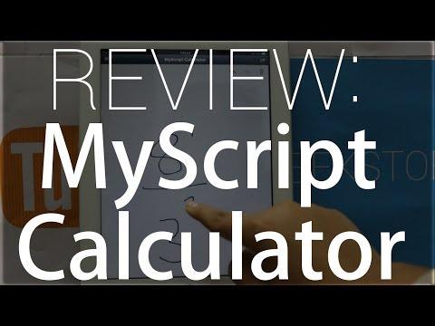 App Review : MyScript Calculator