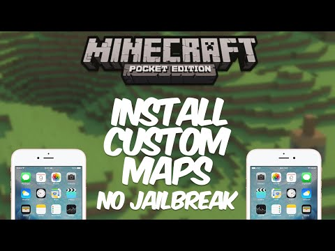 [0.13.1] How To Install Custom Maps On iOS - Minecraft: Pocket Edition (patched)