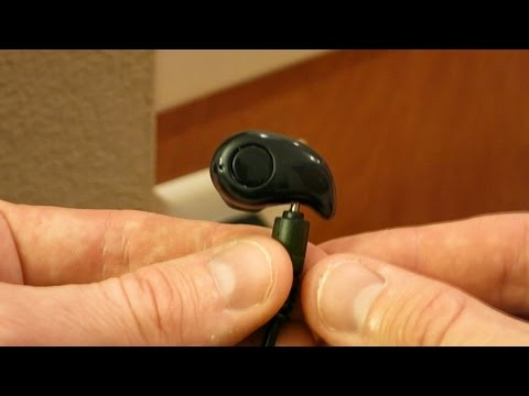 Smallest Bluetooth Earphone For Driving Gym Or Sports - Unboxing & Review S530 Bluetooth Earphone