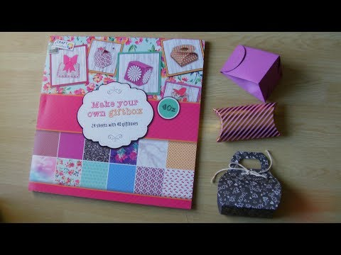Make Your Own GiftBox : Budget Crafts Test & Review