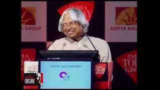 Dr APJ Kalam: The nation is bigger than the political system - India Today Conclave 2013