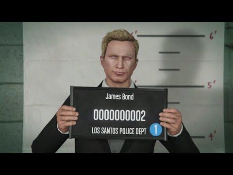 GTA Online Tutorial #16 - How to Look Like James Bond/Daniel Craig!