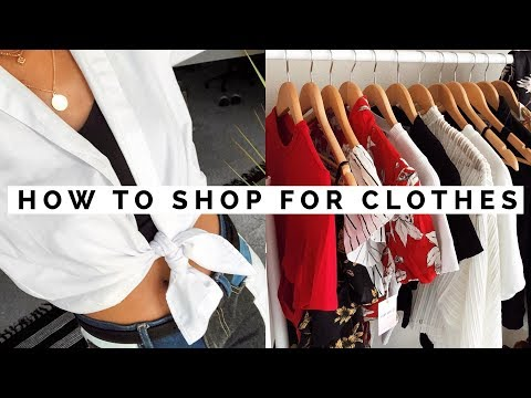WHERE & HOW TO SHOP FOR CLOTHES | Asia Jackson