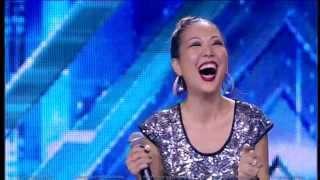 Гульбаршин Мурзагалиева. X Factor Казахстан. Прослушивания. Вторая серия. Пятый сезон.