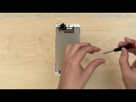 iPhone 6S Plus screen replacement / digitizer glass and LCD reinstallation instructions