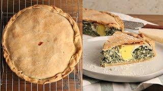 Italian Savory Easter Pie (Torta Pasqualina)  | Episode 1244