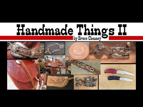 HANDMADE THINGS | Bruce Cheaney Saddles, Bits, Spurs | Leather | Steel