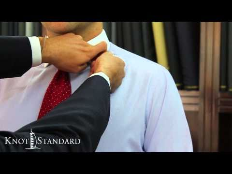 How To Measure Your Suit - Length of the Front of the Jacket