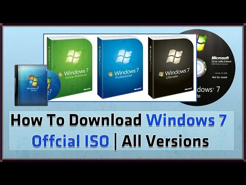 How To Download Windows 7 Ultimate 32 Bit & 64 Bit  For Free Full Version