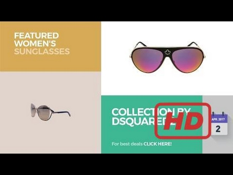 Sale 2017 Collection By Dsquared2 Featured Women's Sunglasses